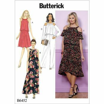 Butterick pattern B6452