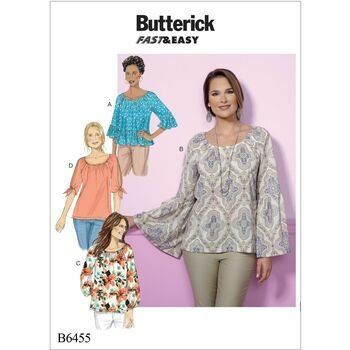 Butterick pattern B6455