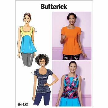 Butterick pattern B6458