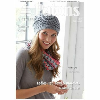 Patons Summer Cotton Modern Crochet Leaflet (4078)