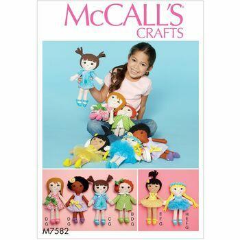 McCalls pattern M7582