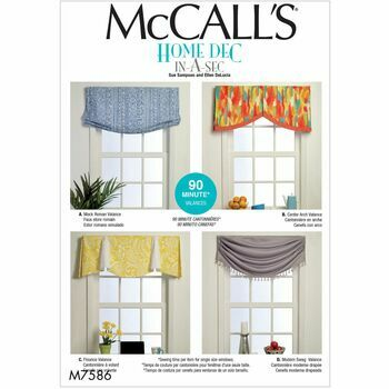 McCalls pattern M7586