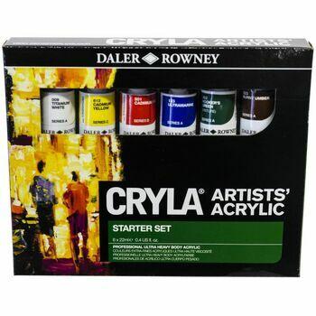 Daler Rowney Cryla Artists\' Acrylic Starter Set