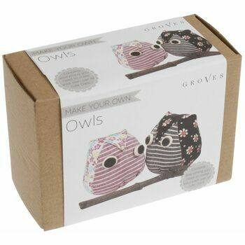 Groves 'Make Your Own Owls' Sewing Kit