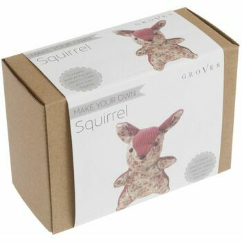Groves 'Make Your Own Squirrel' Sewing Kit