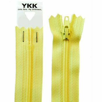 YKK Nylon Dress & Skirt Zip - Daffodil (20cm)