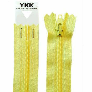 YKK Nylon Dress & Skirt Zip - Daffodil (46cm)