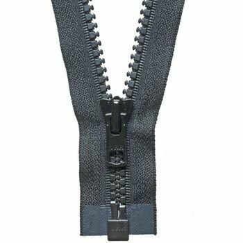 YKK Vislon Heavyweight Open End Zip - Black (61cm)