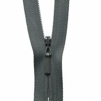 YKK Concealed Zip - Elephant (23cm)