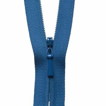 YKK Concealed Zip - Saxe Blue (23cm)