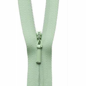 YKK Concealed Zip - Pale Lime (41cm)