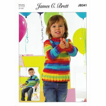 James C Brett Party Time Chunky JB341