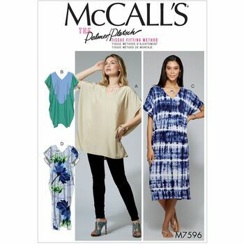 McCalls pattern M7596