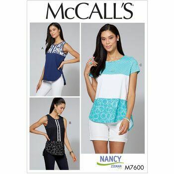 McCalls pattern M7600