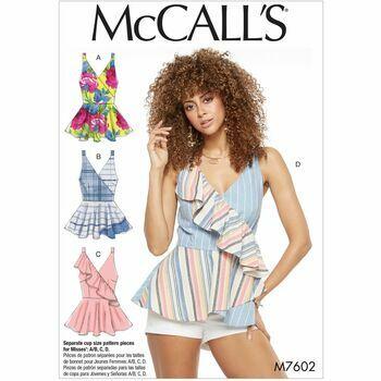 McCalls pattern M7602