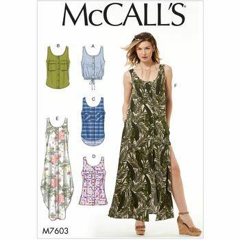 McCalls pattern M7603