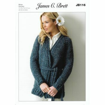 James C Brett Pattern Mega Chunky JB116
