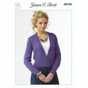 James C Brett Pattern DK JB108
