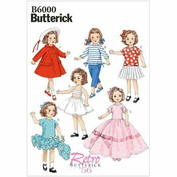 Butterick pattern B6000