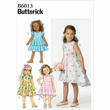 Butterick pattern B6013