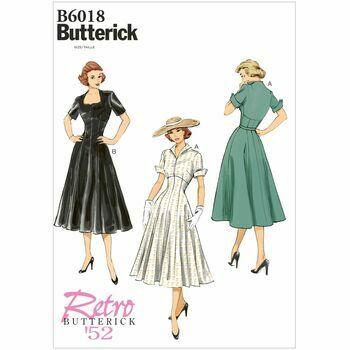 Butterick pattern B6018