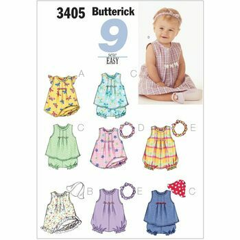 Butterick pattern B3405
