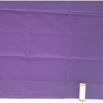 Purple Plain Fabric by Natural Charms: 100% Cotton