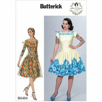 Butterick pattern B6484