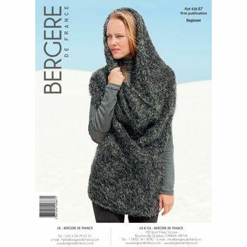 Bergere de France Two Way Tube Sweater Pattern -42867