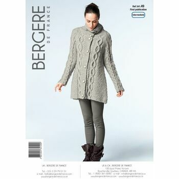 Bergere de France Trapeze Shaped Jacket Pattern - 34149