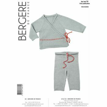 Bergere de France Kids Top & Trousers Pattern - 34614