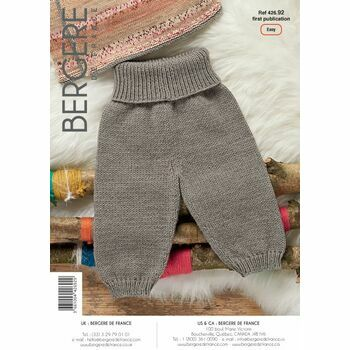 Bergere de France Children's Legging Pattern - 42692