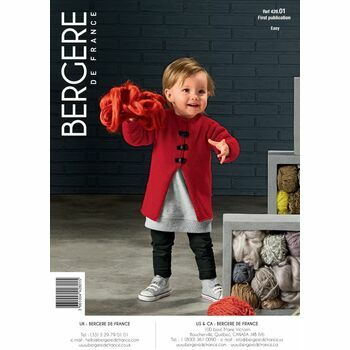 Bergere de France Children's COAT PATTERN -42801