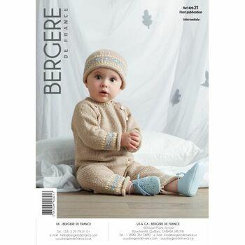 Bergere de France BABY ROMPER SUIT PATTERN -42821