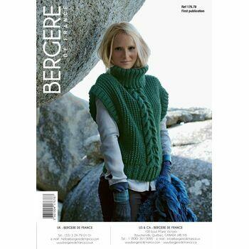 Bergere de France Women's Sleeveless Sweater PATTERN - 17678