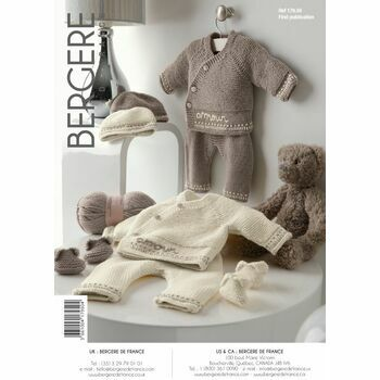 Bergere de France JACKET, TROUSERS, HAT & BOOTEES - 17950