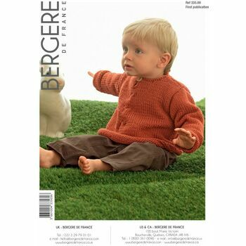 Bergere de France Children's Flared Sweater Pattern - 33569