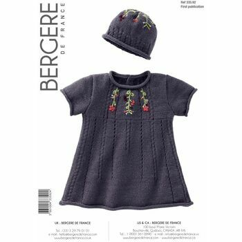 Bergere de France Children's Dress & Hat Pattern - 3359