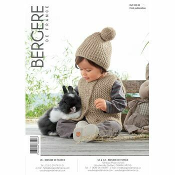 Bergere de France Children's Gilet & Hat Pattern - 33599