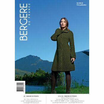Bergere de France Women's Coat Pattern -33640
