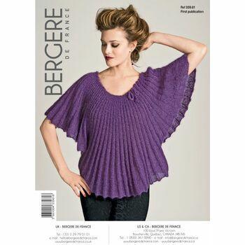 Bergere de France Poncho Sweater Pattern - 33961