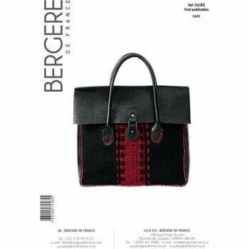Bergere de France City Bag Pattern - 72585