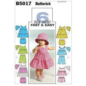 Butterick pattern B5017