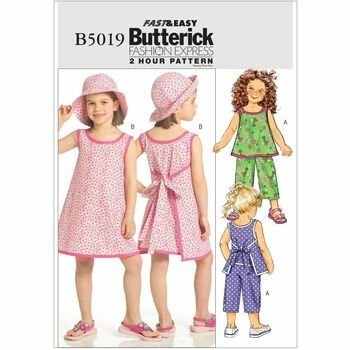 Butterick pattern B5019