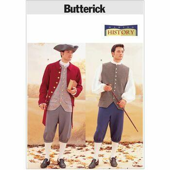 Butterick Pattern B3072 Men\'s Historical War Costume