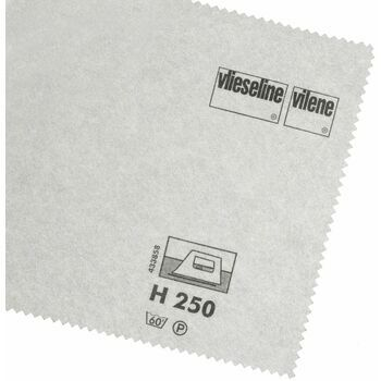 Vlieseline Iron-On Interlining Standard Firm - 90cm (White) - Per 10cm