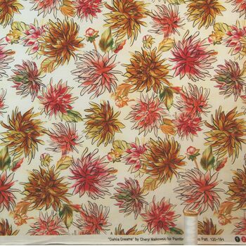 Dahlia Dreams by Cheryl Malkowski for Paintbrush Studio