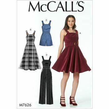 McCalls pattern M7626