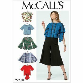 McCalls pattern M7630
