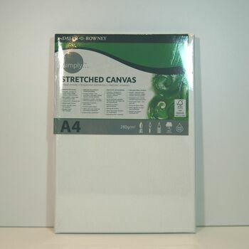 Daler Rowney Simply Stretched Canvas (A4)
